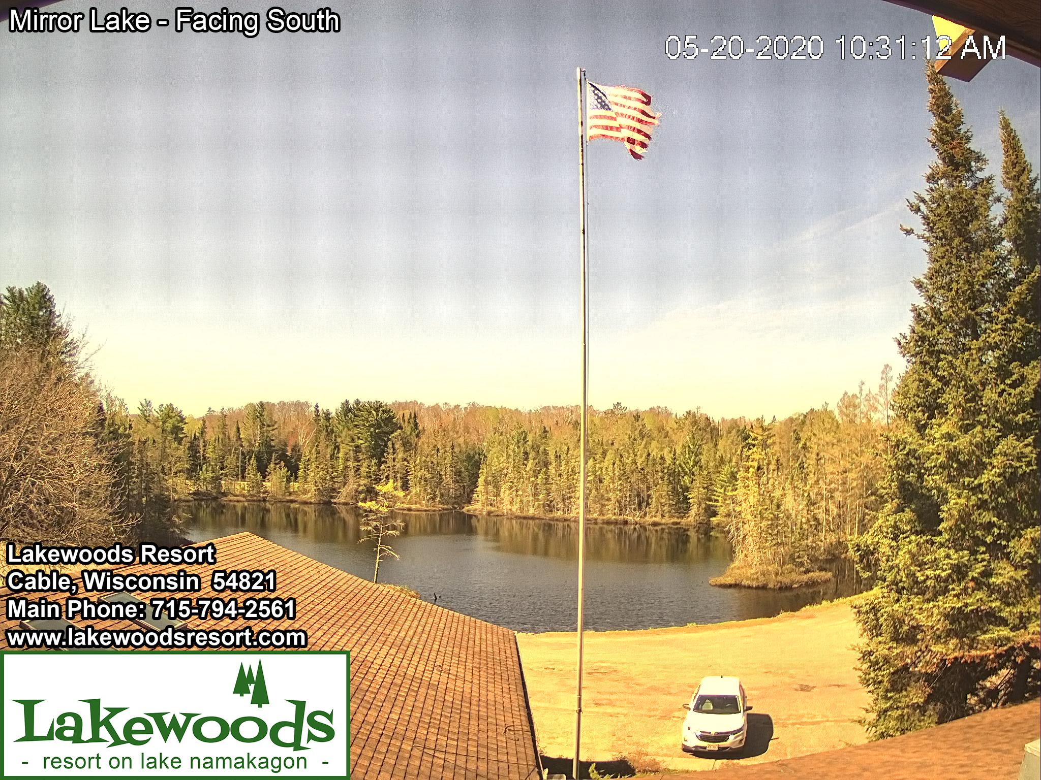 Lakewoods Resort dock cam